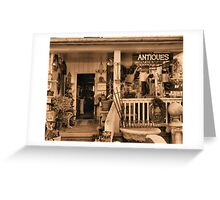 """""""Ruthie's Antiques""""... prints and products Greeting Card"""