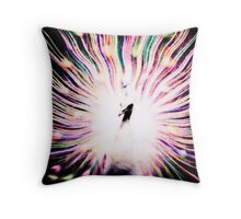 Swirled Peacock  Throw Pillow