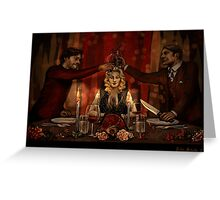 Dinner for Two Greeting Card
