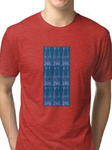 His 'n' Hers Giraffes Tri-blend T-Shirt