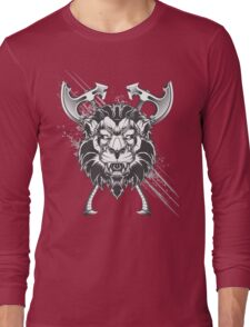 Wild lion Long Sleeve T-Shirt