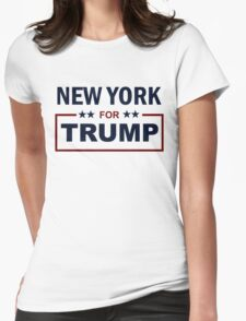 New York for Trump Womens Fitted T-Shirt
