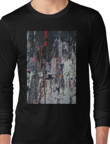 Scratch on the wall Long Sleeve T-Shirt