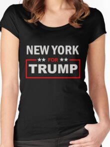 New York for Trump Women's Fitted Scoop T-Shirt