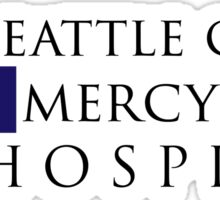Seattle Grace Mercy West Hospital Logo (Alt) – Grey's Anatomy, McDreamy Sticker