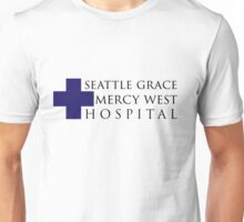 Seattle Grace Mercy West Hospital Logo (Alt) – Grey's Anatomy, McDreamy Unisex T-Shirt