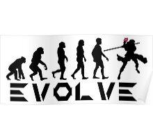 Evolution of X-Man - Gambit Poster