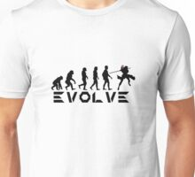 Evolution of X-Man - Gambit Unisex T-Shirt