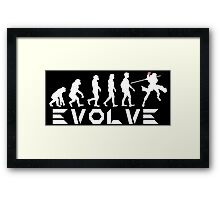 Evolution of X-Man - Gambit Framed Print