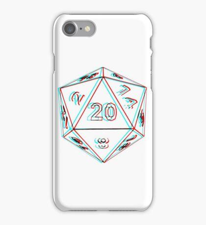 3D D20 Dice iPhone Case/Skin