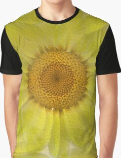 Sunny Day Daisy Floral Abstract Graphic T-Shirt