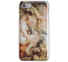 Peter Paul Rubens - Ceres and Two Nymphs with a Cornucopia iPhone Case/Skin