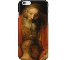 Rembrandt Harmensz van Rijn - Retugarn of the Prodil Son  iPhone Case/Skin