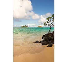 Lanikai Beach 1 - Oahu Hawaii Photographic Print