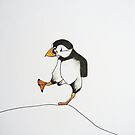 puffin marching by Stormswept