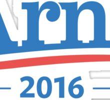 Arnie For President 2016 – Schwarzenegger, Arnold, Bernie Sanders parody Sticker