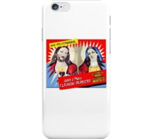 Jesus and Mary Cleaning Services iPhone Case/Skin