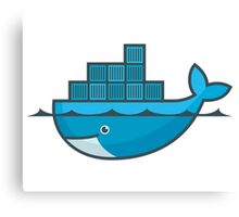 docker Canvas Print