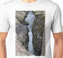 Waterfall at the Gorge Unisex T-Shirt