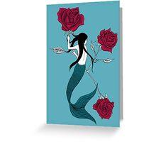 Mermaid Tattoo Greeting Card