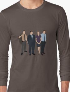 The Office US - Line Up Long Sleeve T-Shirt