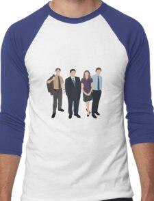 The Office US - Line Up Men's Baseball ¾ T-Shirt