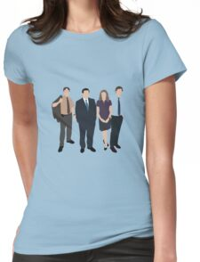 The Office US - Line Up Womens Fitted T-Shirt
