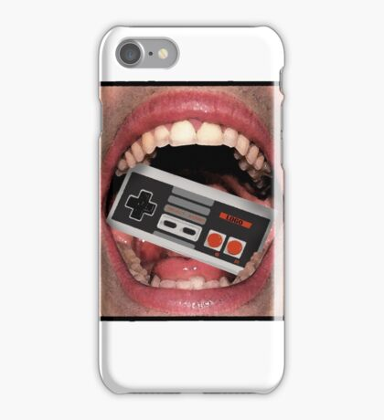 Console Mouth iPhone Case/Skin