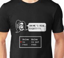 "Undertale - Undyne ""ANIME'S REAL RIGHT?!?!"" Transparent shirt Unisex T-Shirt"