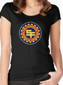 San Fransokyo Institute Women's Fitted Scoop T-Shirt