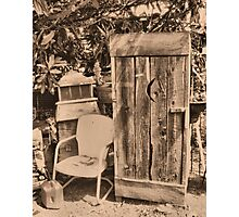 """OUTHOUSE AND NEXT IN LINE""... prints and products Photographic Print"