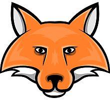 Fox Head 2 Photographic Print
