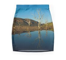 Reflections on Lake Argyle Kununurra Mini Skirt