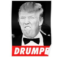 DRUMPF BW Poster