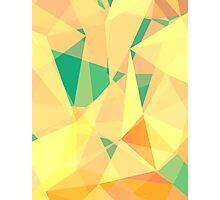 Geometry I Warm Photographic Print
