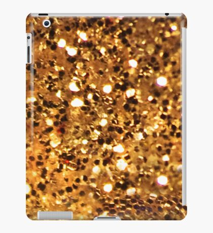 Gold Bling iPad Case/Skin