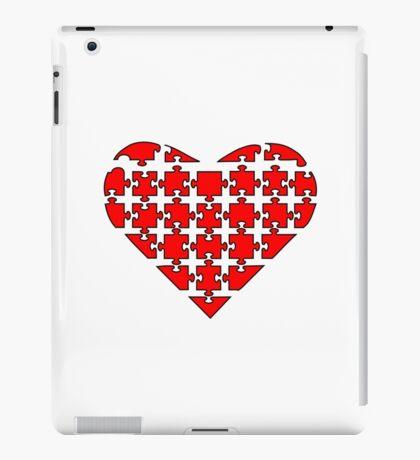 Heart Puzzle iPad Case/Skin