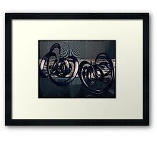 Suspended Time Framed Print