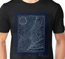 American Revolutionary War Era Maps 1750-1786 941 The southern part of the Province of New York  with part of the adjoining colonies Inverted Unisex T-Shirt