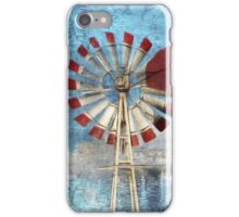 The Windmill ~ Dedicated To farmers Around The World iPhone Case/Skin
