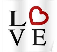 Love Logo Poster