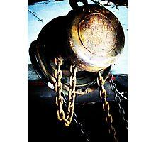 Heavy Metal - engine hoist (2012) Photographic Print