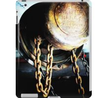 Heavy Metal - engine hoist (2012) iPad Case/Skin
