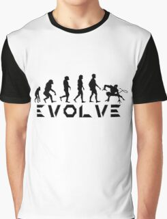 Evolution of X-Man - Nightcrawler Graphic T-Shirt