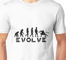 Evolution of X-Man - Nightcrawler Unisex T-Shirt