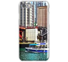 Chicago IL - Water Taxi by Columbus Drive Bridge iPhone Case/Skin