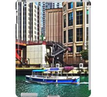 Chicago IL - Water Taxi by Columbus Drive Bridge iPad Case/Skin