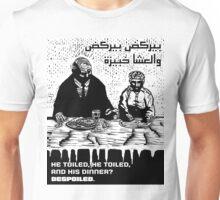He Toiled Unisex T-Shirt