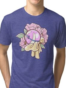 Floral Heal Ball Tri-blend T-Shirt