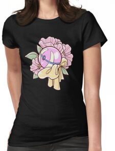 Floral Heal Ball Womens Fitted T-Shirt